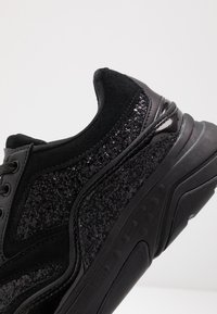 Kurt Geiger London - STREATHAM - Sneakers basse - glitter black - 5