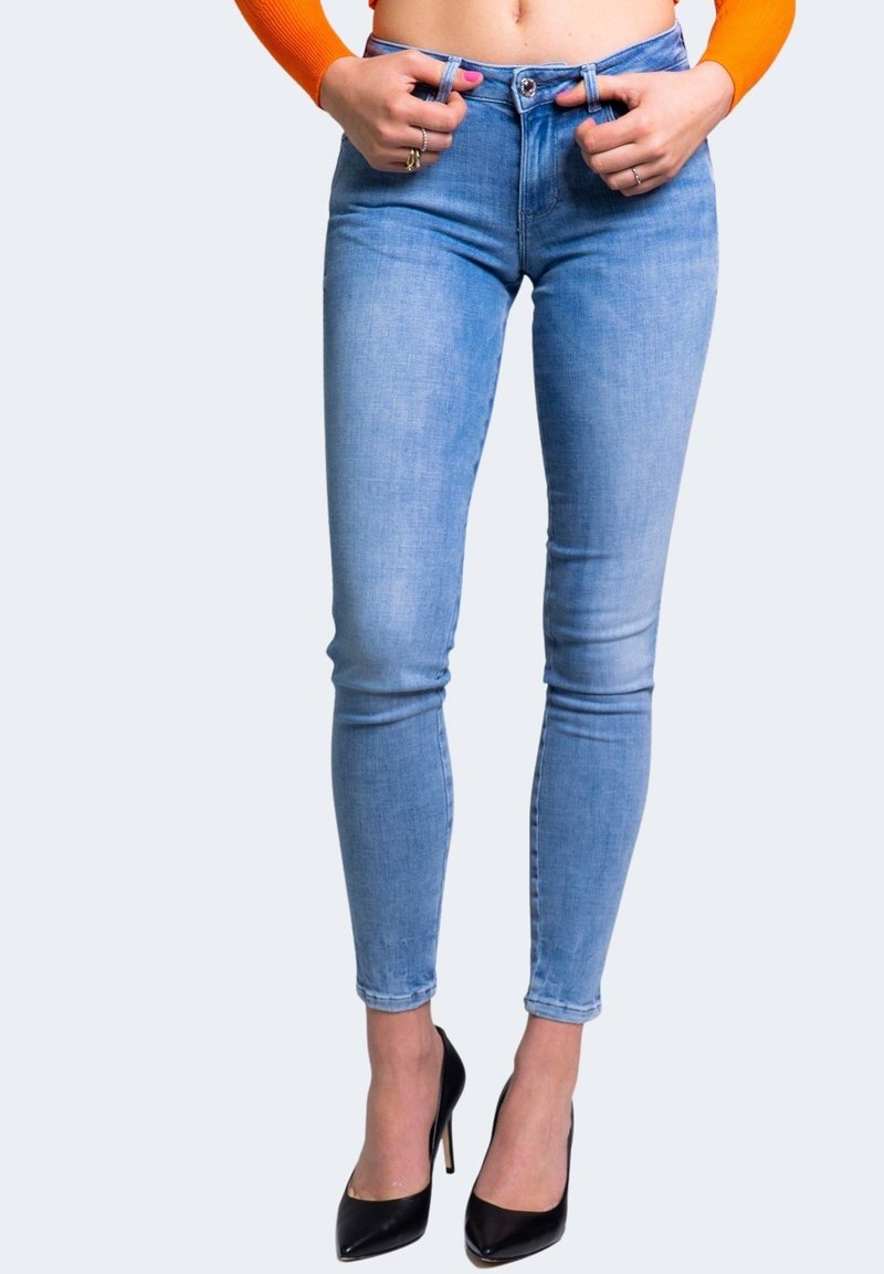 Guess - Jeansy Skinny Fit - blue denim