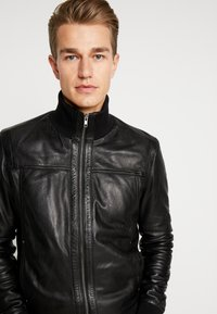 Serge Pariente - SOUL - Leather jacket - black