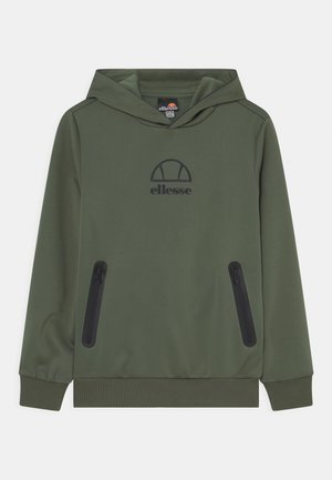 EDENI HOODY UNISEX - Long sleeved top - dark green