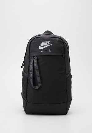 ESSENTIALS - Mochila - dark smoke grey/metallic silver