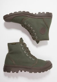 Palladium - PAMPA HI ORIGINAL - Lace-up ankle boots - olive night/black - 1