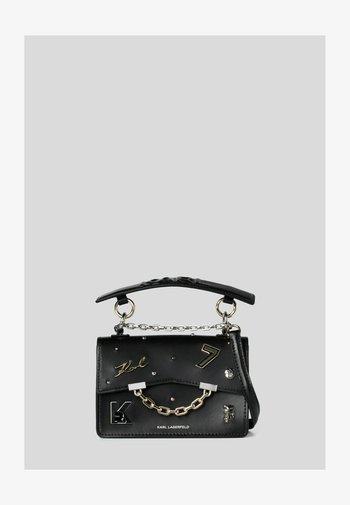SEVEN PINS - Handbag - black