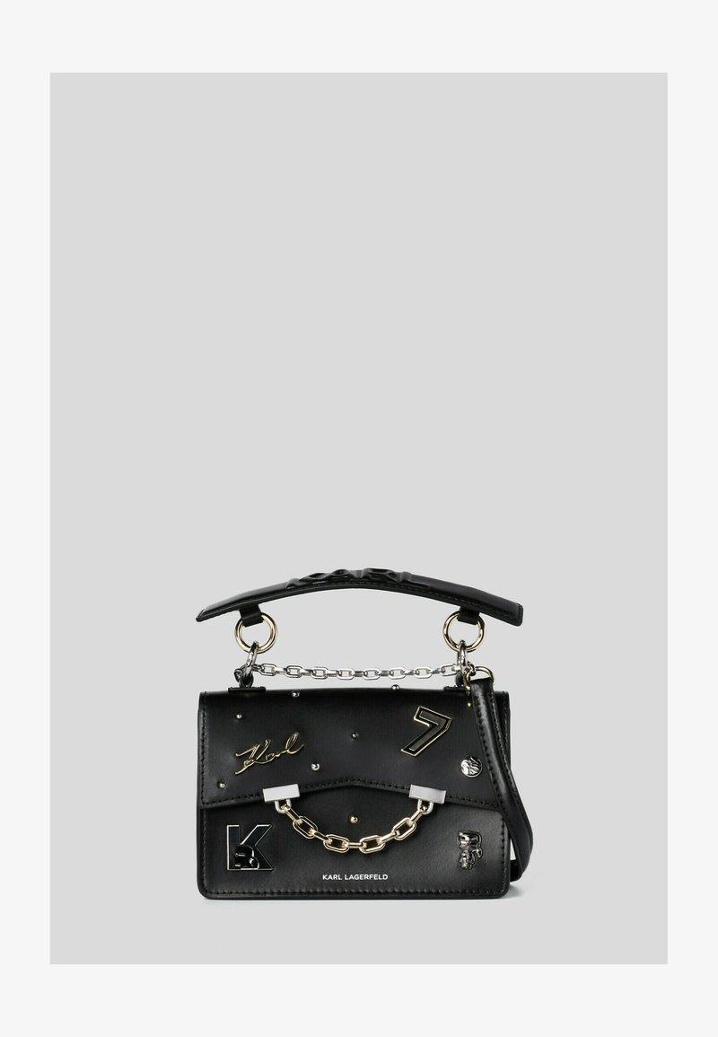 KARL LAGERFELD - SEVEN PINS - Handbag - black