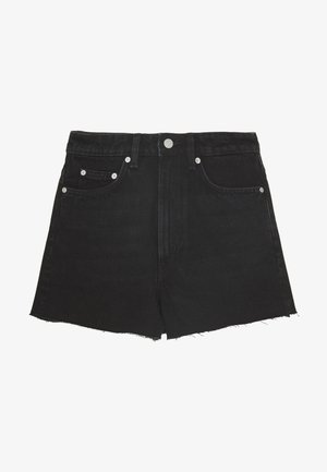 ROWE  - Jeansshorts - echo black
