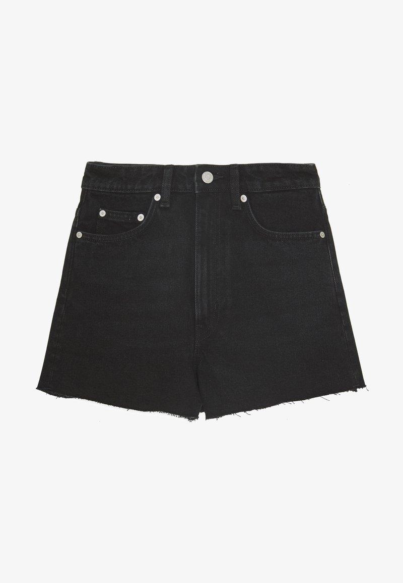 Weekday - ROWE  - Shorts di jeans - echo black