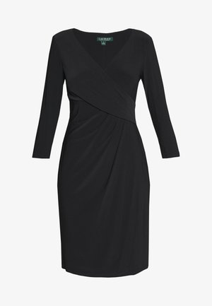 MID WEIGHT DRESS - Sukienka etui - black