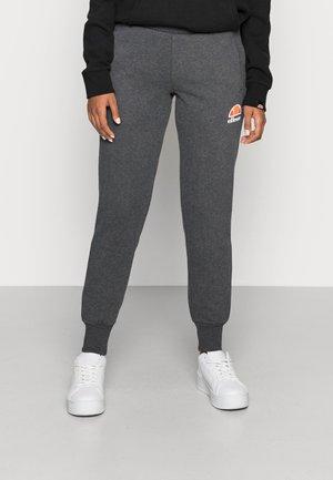 QUEENSTOWN - Teplákové kalhoty - dark grey marl