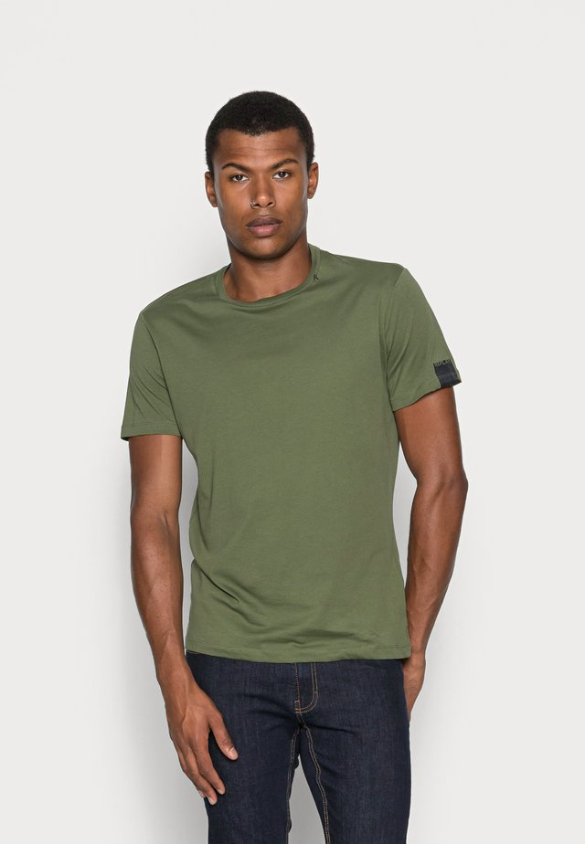 SHORT SLEEVE - T-shirt - bas - olive