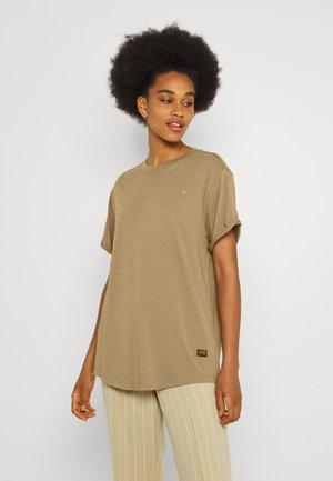 LASH LOOSE - T-shirt basic - safari