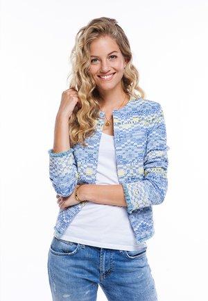 JACKE - Summer jacket - blau
