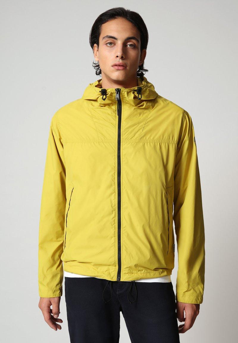 Napapijri - A-CIRCULAR - Outdoor jacket - yellow moss