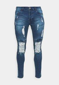CONNOR - Skinny-Farkut - mid blue