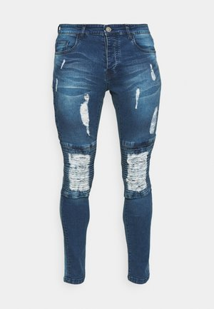 CONNOR - Skinny džíny - mid blue