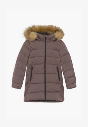 LUNTA UNISEX - Wintermantel - rose ash