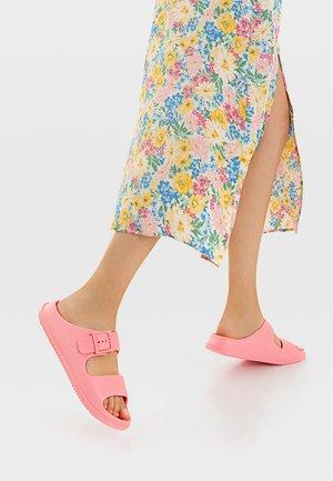 RUBBERISED - Pantofle - pink