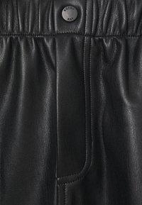 Noisy May - NMJUDO PENNY PAPERBACK SKIRT  - Mini skirt - black - 2