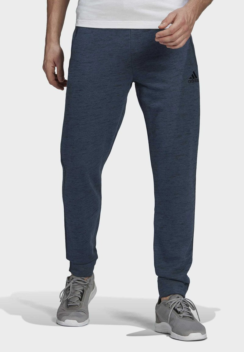 adidas Performance - Tracksuit bottoms - dark blue