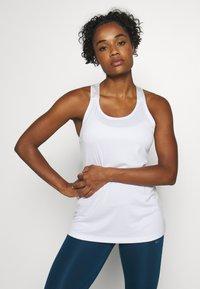 Nike Performance - TANK - T-shirt de sport - white - 0
