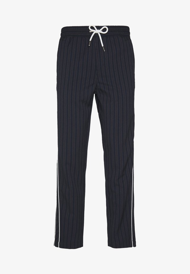 JJIACE JJJOHN JJPANT - Trousers - navy blazer