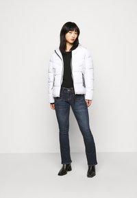 ONLY Petite - ONLMONICA PLAIN JACKET  - Lehká bunda - bright white - 1