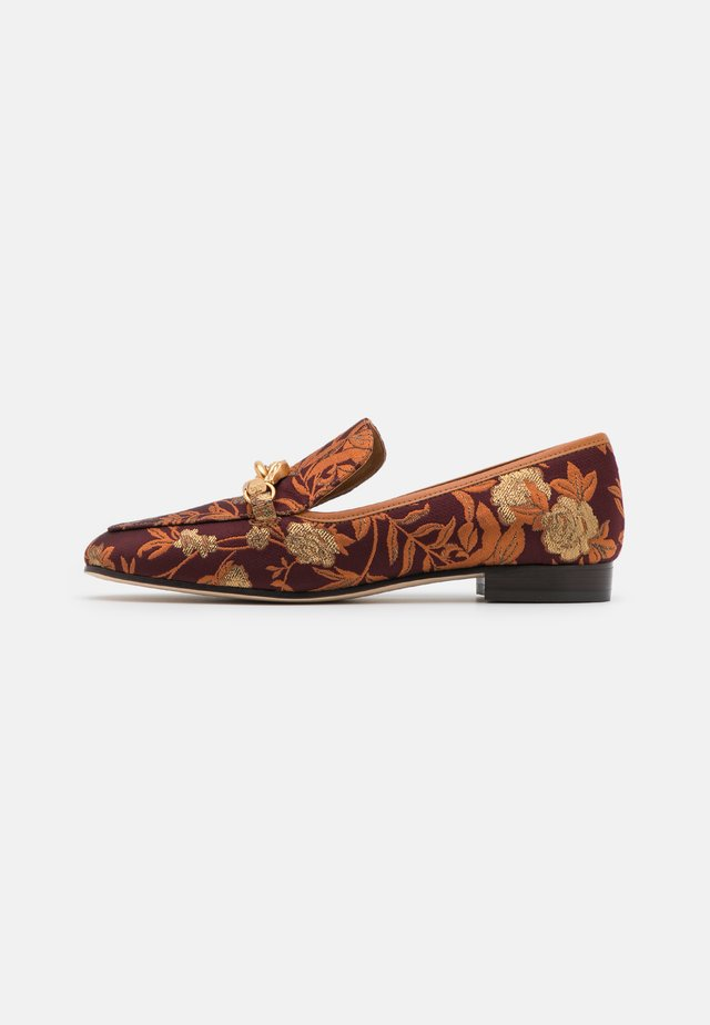 JESSA LOAFER - Instappers - burgundy/gold/ambra
