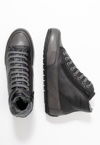 Candice Cooper - PLUS - Sneakers high - nero/antracite - 3
