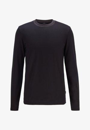 TENISON - Long sleeved top - black