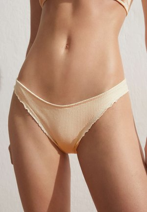 SEAMLESS CURLING BRAZILIAN  - Bikini bottoms - off-white
