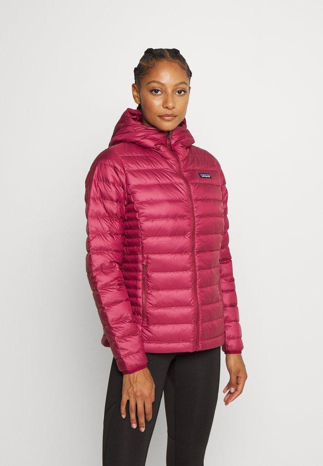 Down jacket - roamer red