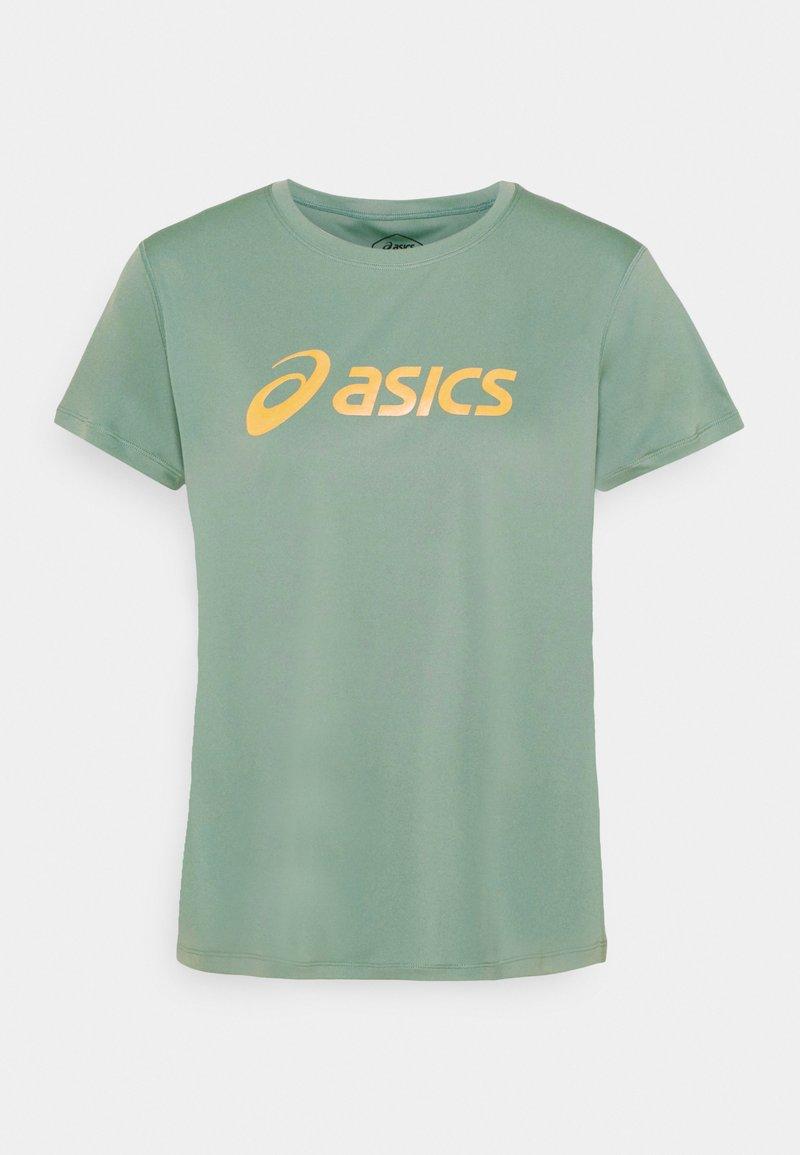 ASICS - SAKURA  - T-shirt con stampa - slate grey