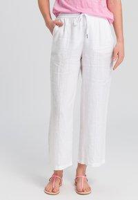 Marc Aurel - Trousers - white - 0