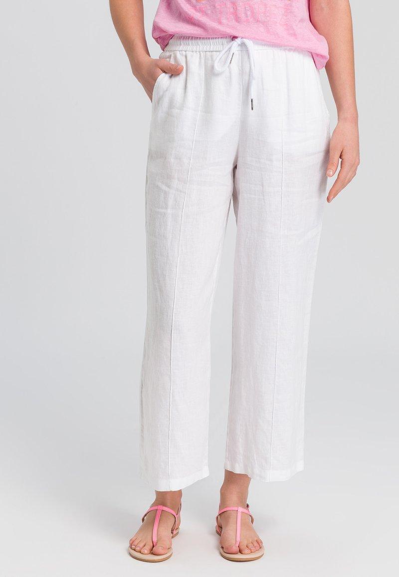 Marc Aurel - Trousers - white