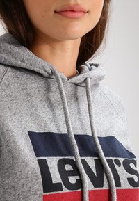 Levi's® - GRAPHIC SPORT - Hoodie - smokestack heather - 3