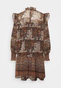 Object - OBJARYA SHORT DRESS - Day dress - sandshell - 1