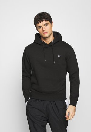 JJESOFT HOOD  - Hoodie - black/cloud dancer
