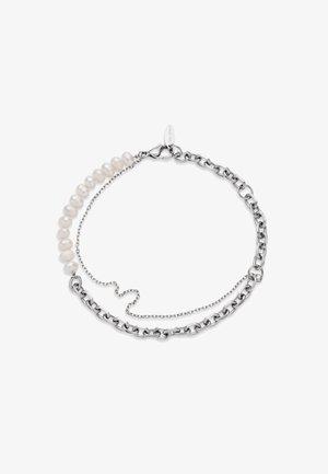 TREASURE DUO PEARL - Bracelet - silber