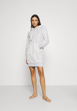 ROBE ZIP FLEECE NOVELTY - Badjas - grey