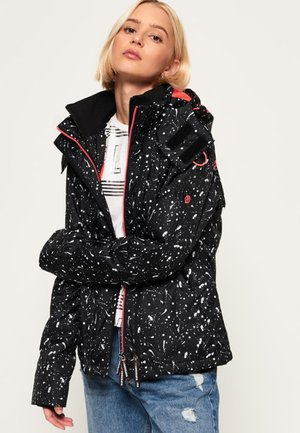 BEDRUCKTE ARCTIC POP  - Light jacket - black