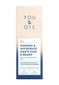 YOU & OIL - HAIR AND BEARD OIL NOURISH & INVIGORATE MEN'S HAIR & BEARD - Beard oil - - - 2