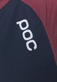 POC - PURE  - Langarmshirt - red/turmaline navy/uranium black - 6
