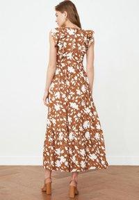 Trendyol - Maxi dress - brown - 1