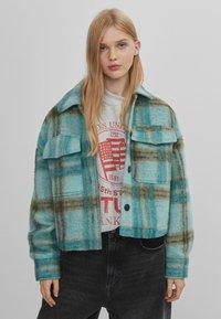 Bershka - Summer jacket - turquoise - 0