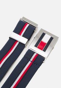 Tommy Hilfiger - EASY CLIP BELT UNISEX - Belt - twilight navy - 1
