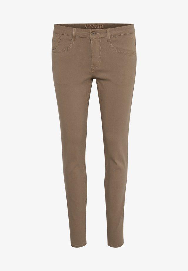 LANI - Pantalon classique - faded brown