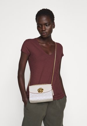SIGNATURE PARKER SHOULDER BAG - Umhängetasche - chalk