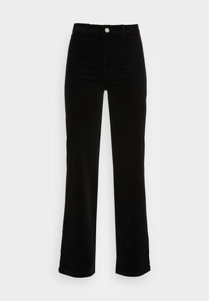 TROUSERS PAULINA - Pantalon classique - black