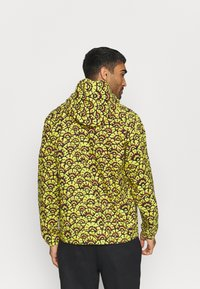 The North Face - PRINTED CLASS FANORAK - Outdoor jacket - mustard yellow/dark blue - 2