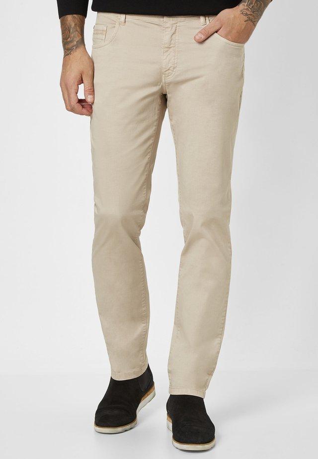 MILTON  - Trousers - beige