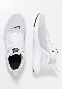Nike Performance - FLEX TRAINER 9 - Scarpe da fitness - white/black/pure platinum - 1